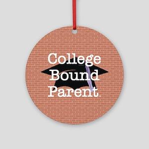 College Bound Parent Ornament (Round)