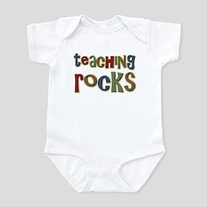 Teaching Rocks Back to School Infant Bodysuit