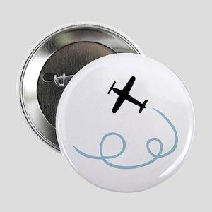 "Plane aviation 2.25"" Button"