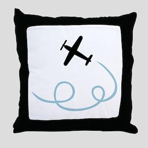 Plane aviation Throw Pillow