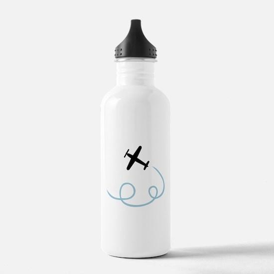 Plane aviation Water Bottle