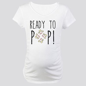 Ready to Pop Maternity T-Shirt