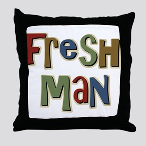 Freshman First Year School Throw Pillow