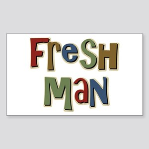 Freshman First Year School Rectangle Sticker