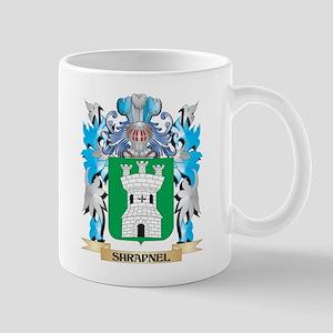 Shrapnel Coat of Arms - Family Crest Mugs