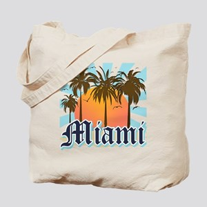 Miami Florida Souvenir Tote Bag