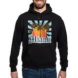 Miami florida Dark Hoodies