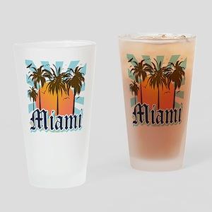 Miami Florida Souvenir Drinking Glass