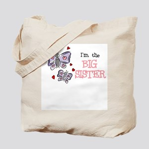 Big Sister Butterfly - Tote Bag