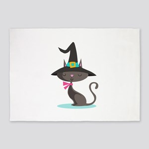 WITCHY CAT 5'x7'Area Rug