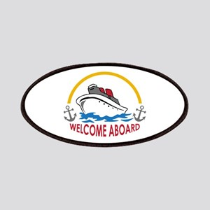 WELCOME ABOARD Patch