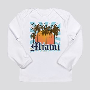 Miami Florida Souvenir Long Sleeve T-Shirt