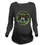 USS FECHTELER Long Sleeve Maternity T-Shirt