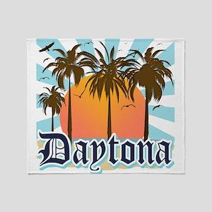Daytona Beach Florida Throw Blanket