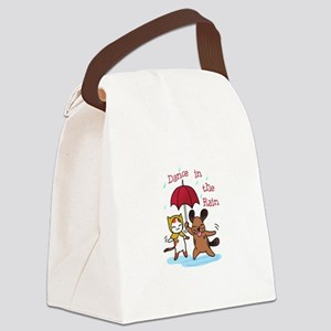 Dance in the Rain Canvas Lunch Bag