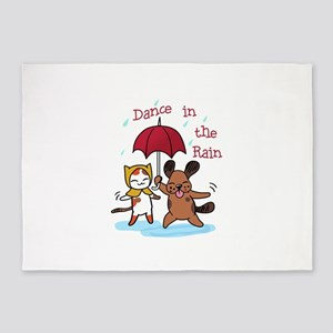 Dance in the Rain 5'x7'Area Rug
