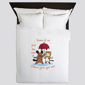 Fell The rain Queen Duvet