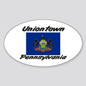 Uniontown Pennsylvania Oval Sticker