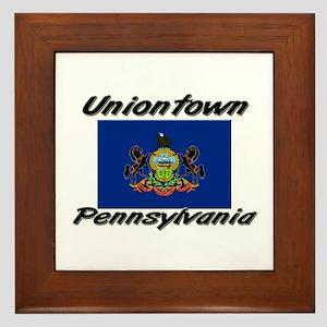 Uniontown Pennsylvania Framed Tile