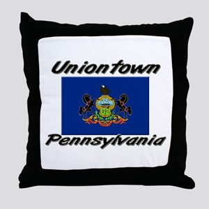 Uniontown Pennsylvania Throw Pillow