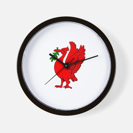 Liverpool Liverbird Wall Clock