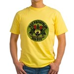 USS FECHTELER Yellow T-Shirt