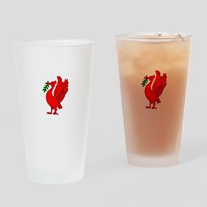 Liverpool Liverbird Drinking Glass