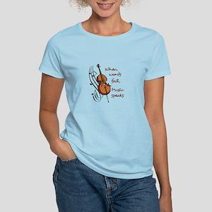 WHEN WORDS FAIL T-Shirt