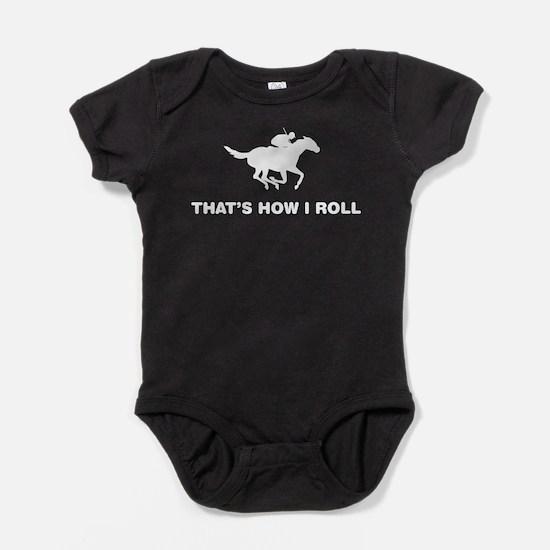 Funny Sportsman Baby Bodysuit