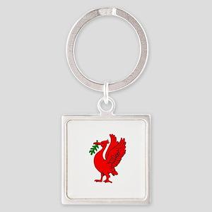 Liverpool Liverbird Keychains