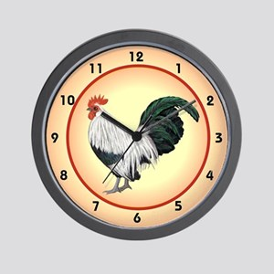 Rooster time to crow Wall Clock