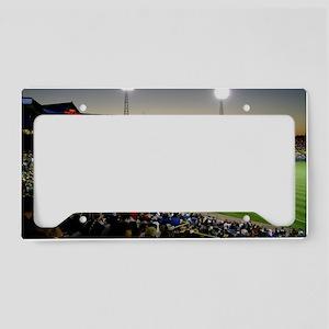 Rosenblatt Stadium Sunset License Plate Holder
