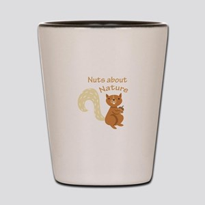 Nuts About Nature Shot Glass
