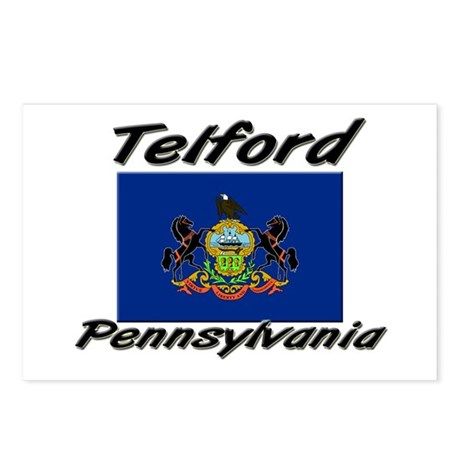 Telford Pennsylvania Postcards (Package of 8)