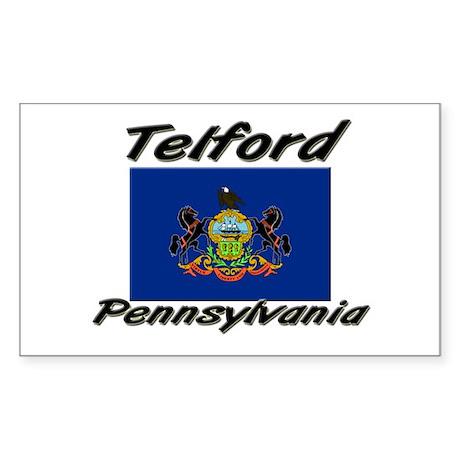 Telford Pennsylvania Rectangle Sticker