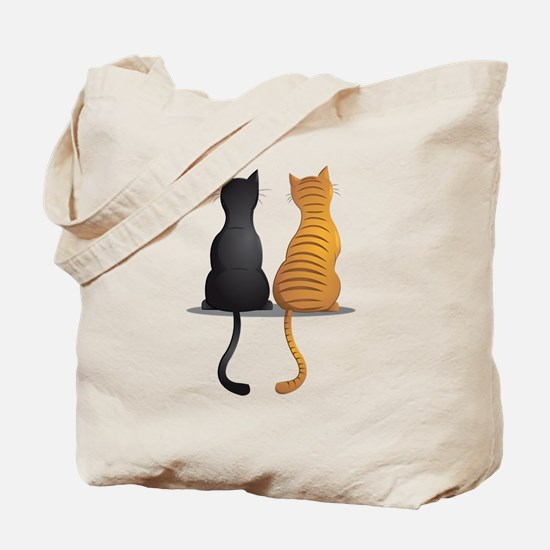 cat buddies Tote Bag