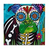 Day of the dead tile Home Decor