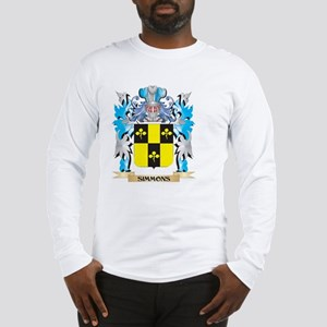 Simmons Coat of Arms - Family Long Sleeve T-Shirt
