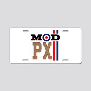 Mod Scooter Px Aluminum License Plate