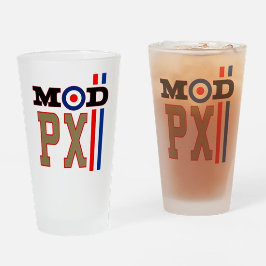 Mod Scooter PX Drinking Glass