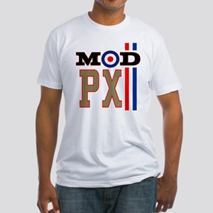 Mod Scooter PX Fitted T-Shirt