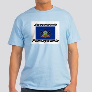 Swoyersville Pennsylvania Light T-Shirt