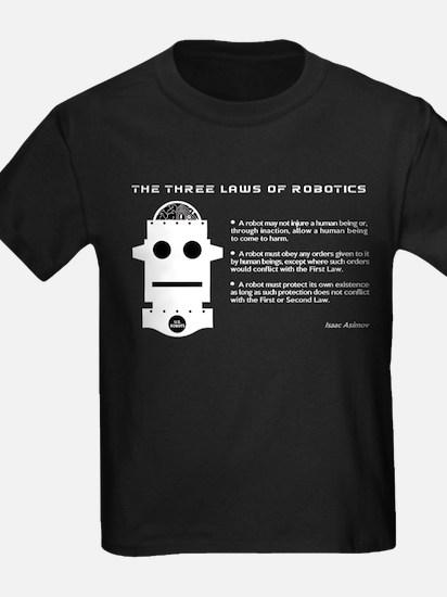 Three Laws Of Robotics T-Shirt