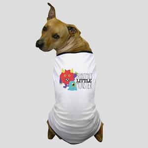 Grandma's Little Monster Dog T-Shirt