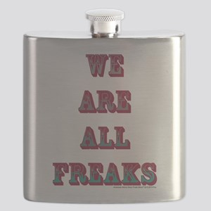 We Are All Freaks Flask