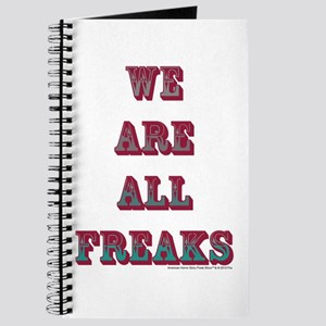 We Are All Freaks Journal