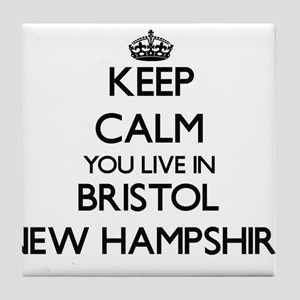 Keep calm you live in Bristol New Ham Tile Coaster