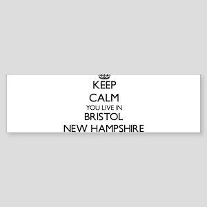Keep calm you live in Bristol New H Bumper Sticker