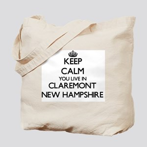 Keep calm you live in Claremont New Hamps Tote Bag