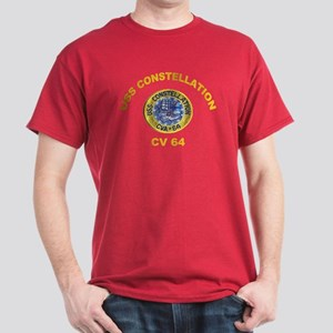 USS Constellation CV-64 Dark T-Shirt